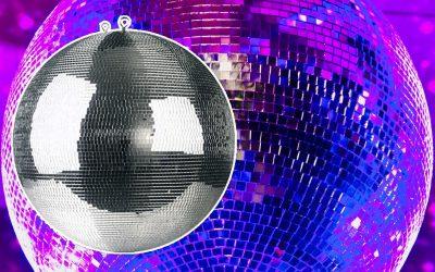 Mega spiegelbol